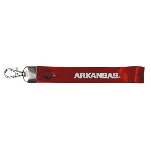 NCAA University of Arkansas Wristlet Lanyard
