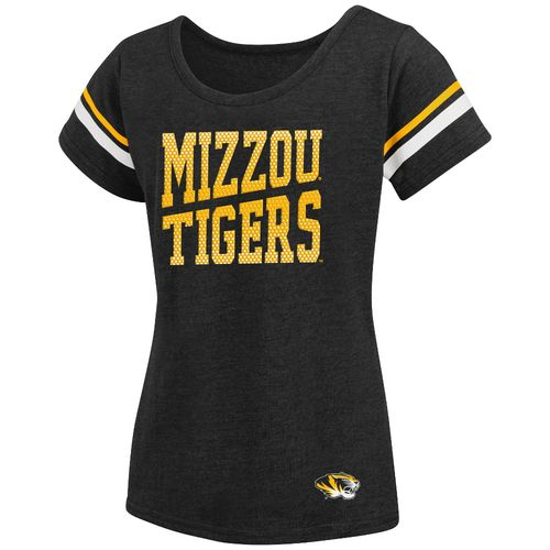Colosseum Athletics™ Girls' University of Missouri Fading Dot T-shirt