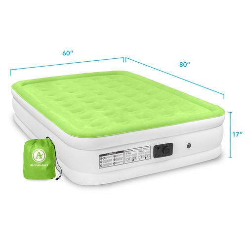 Air Comfort Dream Easy Queen-Size Raised Air Mattress with Built-In Electric Pump - view number 9