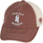 Top of the World Women's Mississippi State University Roots Cap
