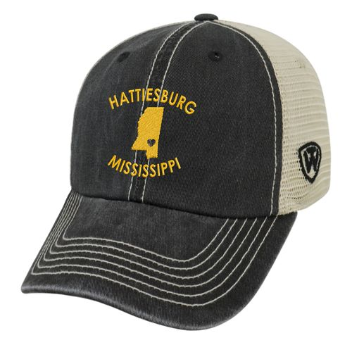 Top of the World Women's University of Southern Mississippi Roots Cap