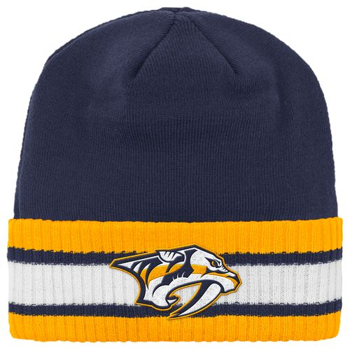 Reebok Men's Nashville Predators Captain's Knit Cap