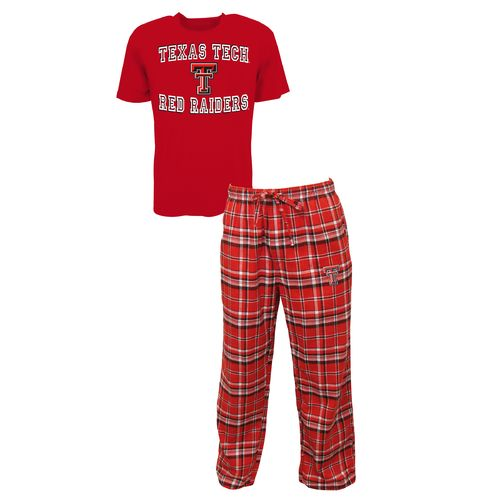 Concepts Sport™ Men's Texas Tech University Tiebreaker Shirt and Pant Set