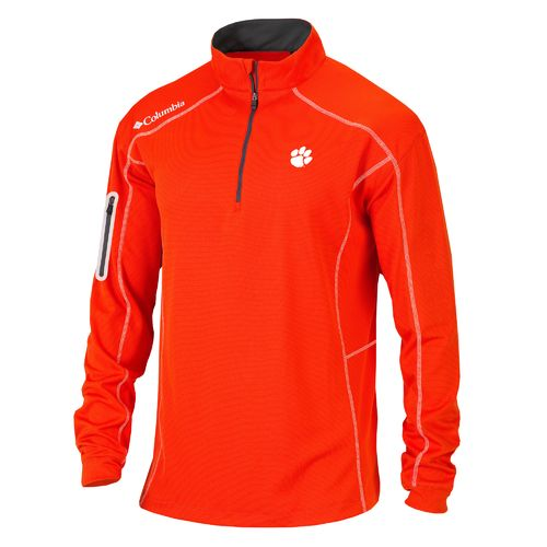 Columbia Sportswear™ Men's Clemson University Shotgun 1/4 Zip Pullover
