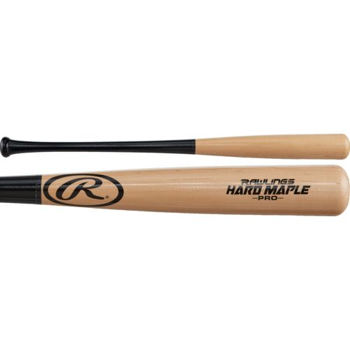 Rawlings Adults 110 Hard Maple Wood Baseball Bat