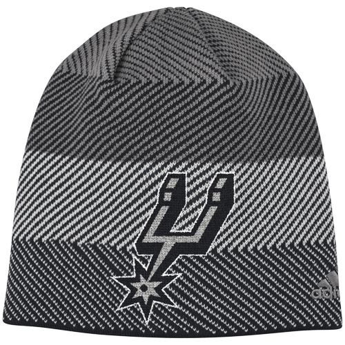 adidas™ Men's San Antonio Spurs Cuffless Logo Beanie