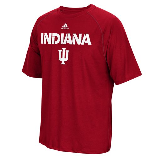 adidas™ Men's Indiana University Sideline climalite® T-shirt - view number 1