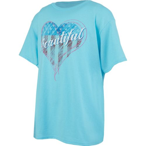 Academy Sports + Outdoors Boys' Beautiful Heart T-shirt