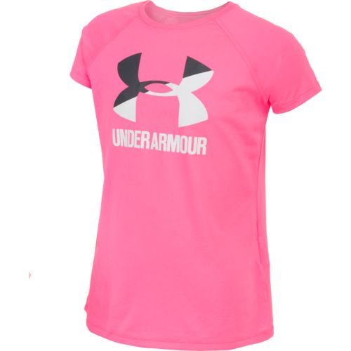 Under Armour™ Girls' Big Logo Short Sleeve T-shirt