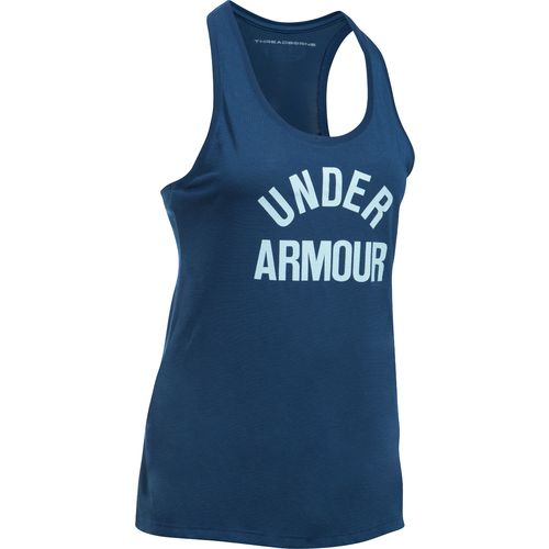 Under Armour™ Women's Threadborne Train Wordmark Tank Top