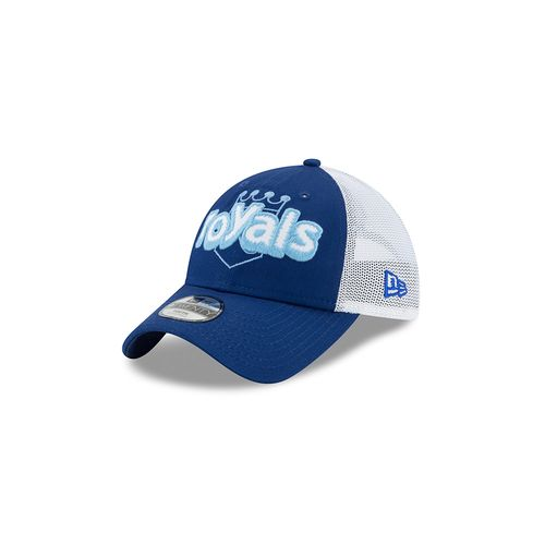 New Era Boys' Kansas City Royals Pop Stitcher Trucker 9TWENTY® Cap