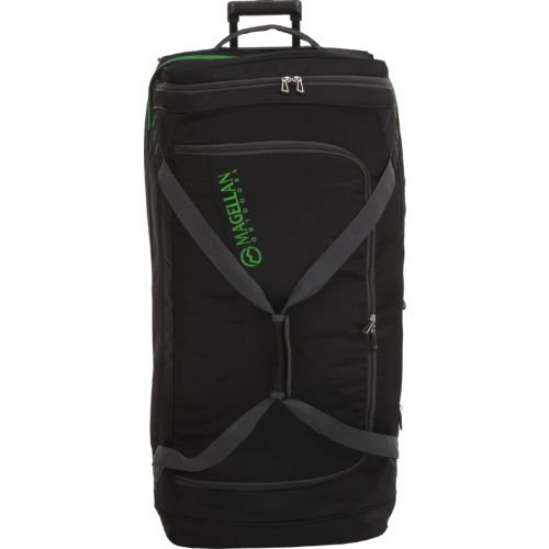 Display product reviews for Magellan Outdoors 36 in Drop Bottom Wheeled Duffel Bag