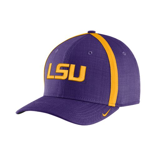 Nike™ Men's Louisiana State University AeroBill Sideline Coaches Cap - view number 1