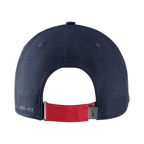 Nike™ Men's University of Mississippi AeroBill Sideline Coaches Cap - view number 2