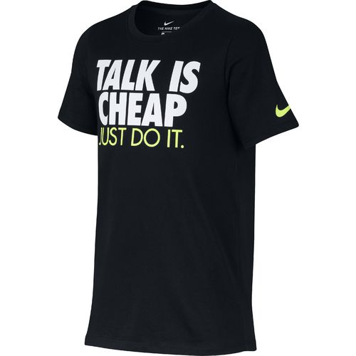 Nike Boys' Dry Talk Is Cheap T-shirt