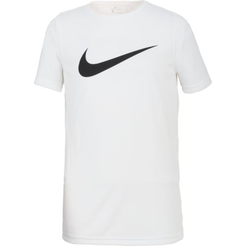 Display product reviews for Nike Boys' Dry Legend Swoosh T-shirt