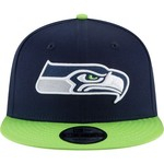 New Era Men's Seattle Seahawks 9FIFTY Baycik Snapback Cap - view number 6