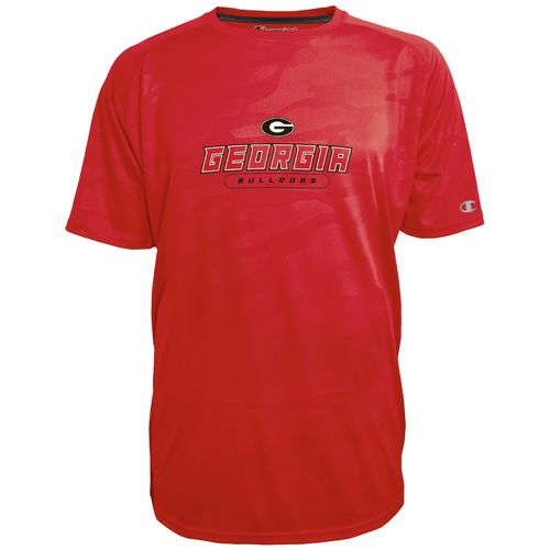 Champion™ Men's University of Georgia Impact Embossed T-shirt