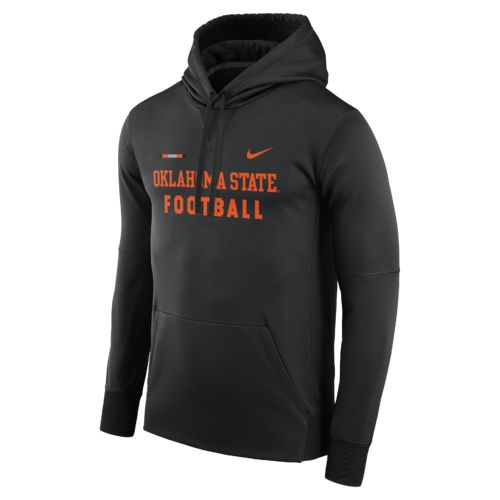 Nike Men's Oklahoma State University Therma-FIT Pullover Hoodie