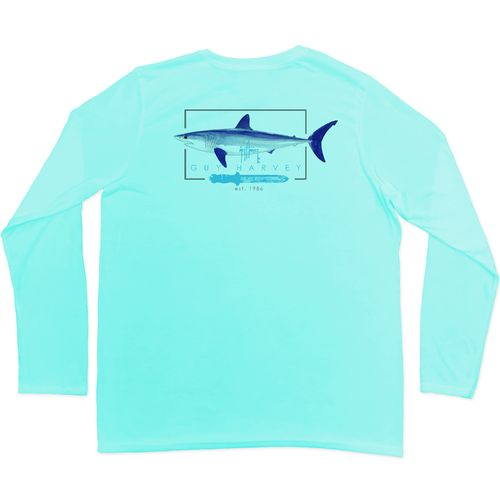 Guy Harvey Boys' Blades Pro UVX Long Sleeve T-shirt