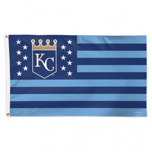 WinCraft Kansas City Royals Stars and Stripes 3 ft x 5 ft Deluxe Flag