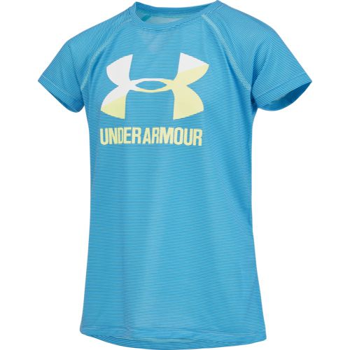 Under Armour Girls' Big Logo Short Sleeve T-shirt - view number 3