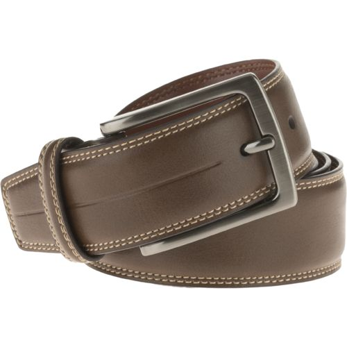 Magellan Outdoors Men's Contrast with Center Stitch Belt