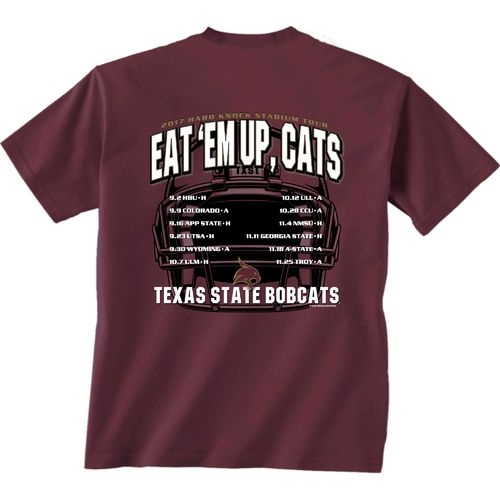 New World Graphics Men's Texas State University Football Schedule '17 T-shirt - view number 1