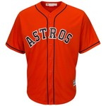 Majestic Men's Houston Astros Yulieski Gurriel #10 COOL BASE® Alternate Replica Jersey - view number 2