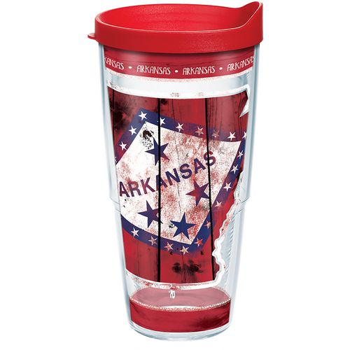 Tervis Arkansas State Outline 24 oz Tumbler - view number 1