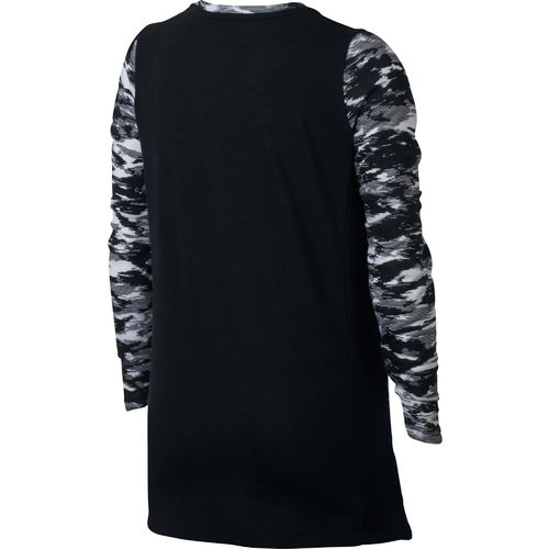 Nike Girls' Breathe Elite Long Sleeve Basketball Top - view number 2