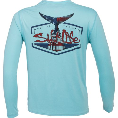 Salt Life Men's American Tail Performance Long Sleeve T-shirt - view number 1