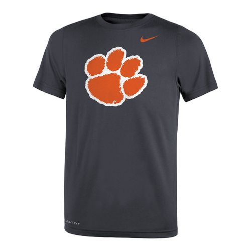 Nike™ Boys' Clemson University Legend Travel T-shirt