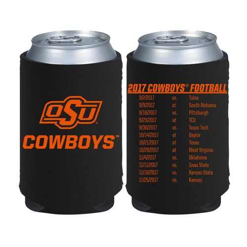 Kolder Kaddy Oklahoma State University 2017 Football Schedule 12 oz Can Insulator - view number 1
