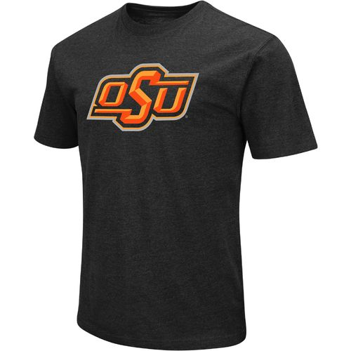 Colosseum Athletics Men's Oklahoma State University Logo Short Sleeve T-shirt