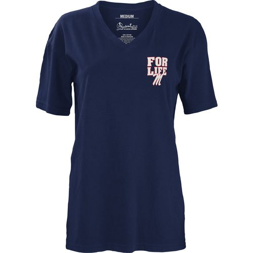 Three Squared Juniors' University of Mississippi Team For Life Short Sleeve V-neck T-shirt - view number 2