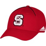 adidas Men's North Carolina State University Coach Structured Flex Cap - view number 1