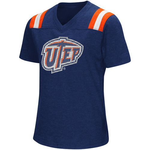 Colosseum Athletics Girls' University of Texas at El Paso Rugby Short Sleeve T-shirt - view number 1