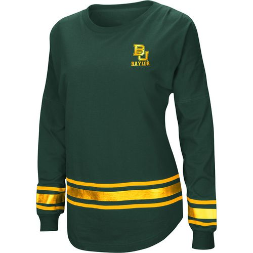 Colosseum Athletics Women's Baylor University Humperdinck Oversize Long Sleeve T-shirt