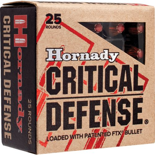 Hornady .357 Magnum 125-Grain Critical Defense® Handgun Ammunition