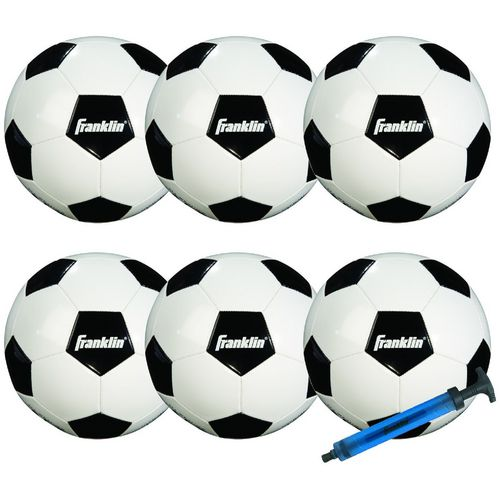 Franklin Kids' Comp 100 Soccer Balls 6-Pack