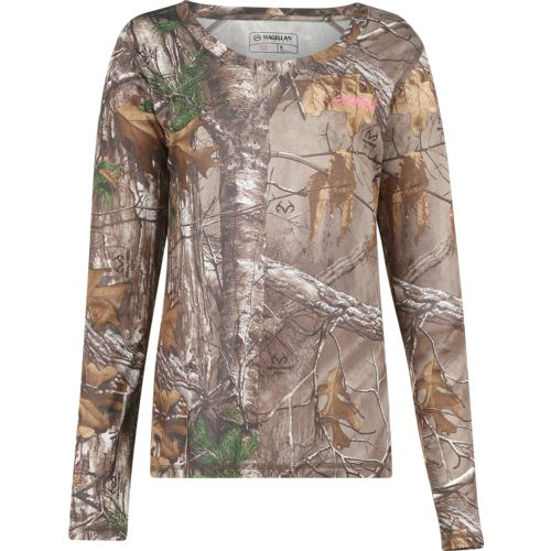 Display product reviews for Magellan Outdoors Women's Eagle Pass Long Sleeve Mesh Shirt