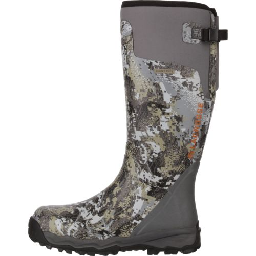 LaCrosse Men's Alphaburly Pro Gore Optifade Rubber Hunting Boots