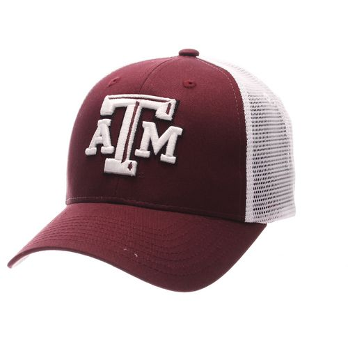 Zephyr Men's Texas A&M University Big Rig 2-Tone Mesh Back Cap