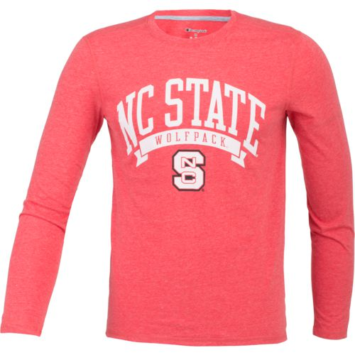 Champion Men's North Carolina State University In Pursuit Long Sleeve T-shirt