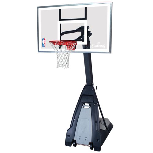 Spalding The Beast 60 in Glass Portable Basketball System