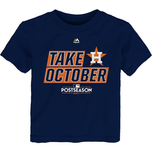 Majestic Toddler Astros Take October T-Shirt