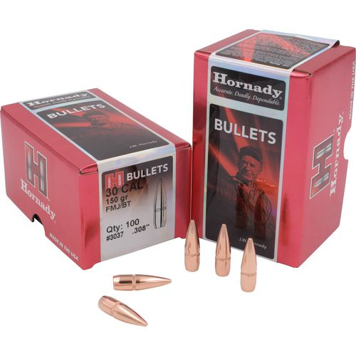 Display product reviews for Hornady FMJ-BT .30 Caliber 150-Grain Bullets