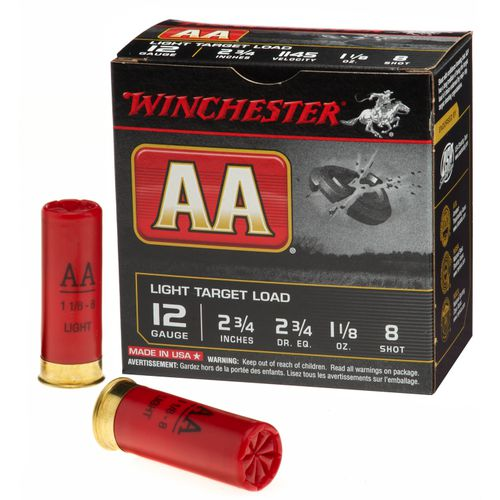 Winchester AA Target Load 12 Gauge 8 Shotshells - view number 1