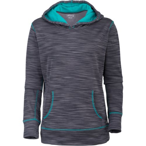 BCG Women's Turbo Melange Long Sleeve Fleece Pullover Hoodie